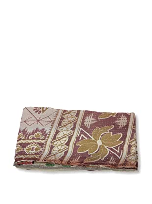 Mili Designs NYC One of a Kind Vintage Kantha Throw, #266