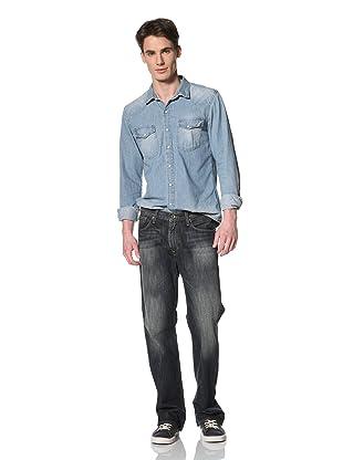 Big Star Men's Five Pocket Bootcut Jeans (Exile)