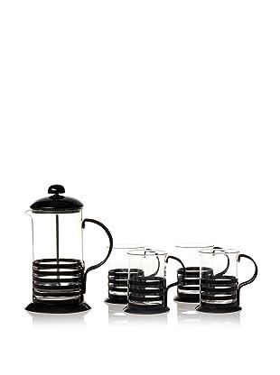 Classic Coffee & Tea Coffee & Tea Press Set (Black)