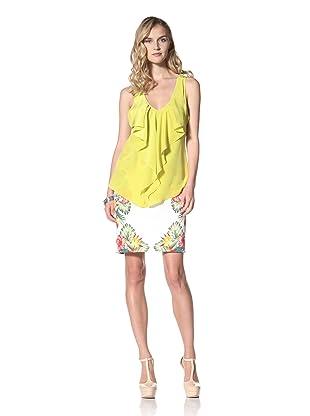 Yoana Baraschi Women's Glam Date Top (Lime)