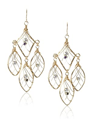 Misha Cubic Zirconia Dreamcatcher Earrings