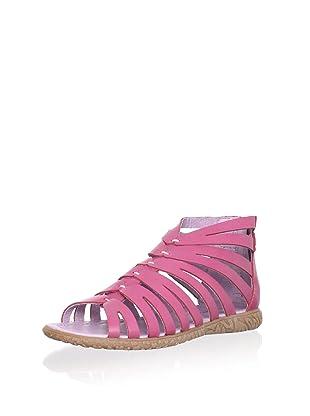Billowy Kid's Strappy Sandal (Pink)