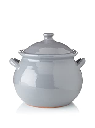 Terafeu Terafour 4-Qt. Round Casserole with Lid (Grey)
