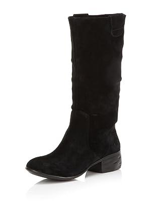 HK by Heidi Klum Women's Miley Suede Boot (Black)