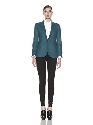 Costume National Women's Wool Blend Jacket (Green)