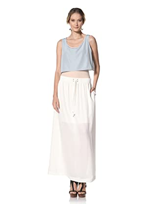 Kenneth Cole Women's Maxi Skirt (Ecru)
