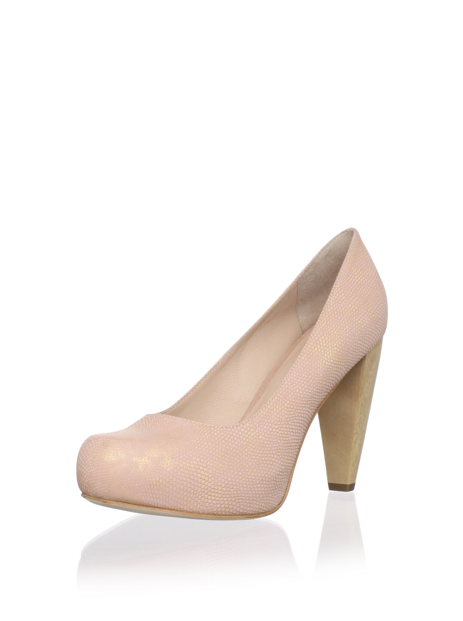 Loeffler Randall Women's Esther Hidden Platform Pump (Rose Gold)