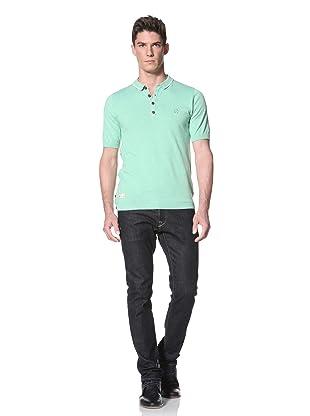 Marshall Artist Men's Golfing Polo Shirt (Mint Green)