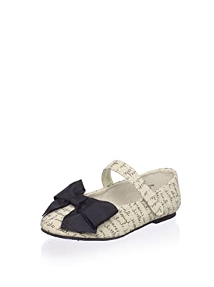 Joyfolie Kid's Kat Flat (Natural)