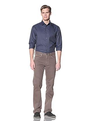 Hickey Freeman Men's Pigment Spray 5-Pocket Jean (Money)