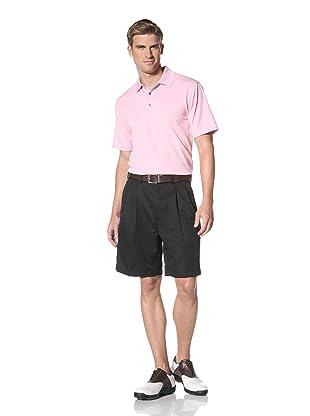 PGA Tour Men's Solid Polo (Lilac Sachet)