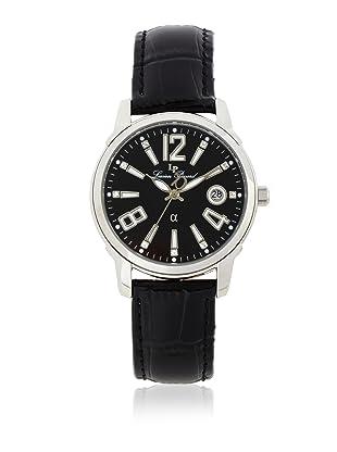 Lucien Piccard Men's A2201BK Black Leather Watch