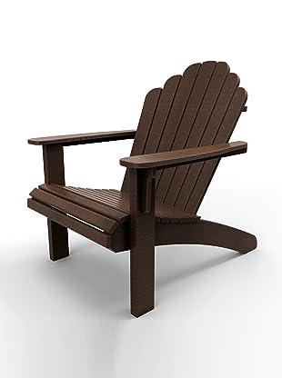 Malibu Outdoor Furniture Hampton Adirondack Chair (Dark Brown)
