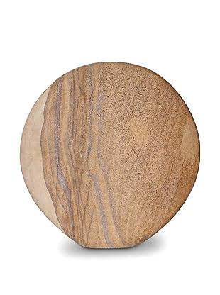Global Pickings Desert Moon Sandstone Vase (Natural)