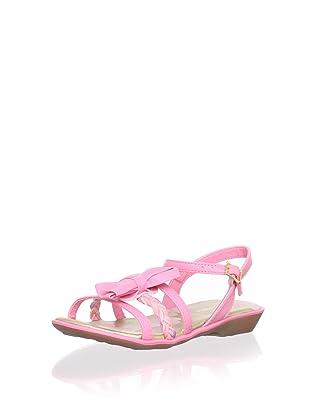 Pampili Kid's Braided Strap Sandal (Rose)