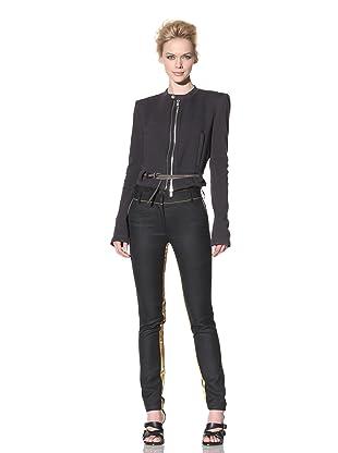Haider Ackermann Women's Cropped Jacket (Anthracite)