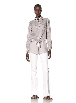 Acrobat Women's Button-Up Tunic (Aluminum)