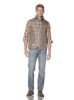 Marshall Artist Men's Tailored Gilet (Olive)