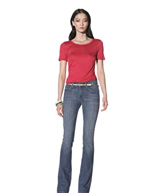 James Jeans Women's Reboot Skinny Boot Leg (Powder)