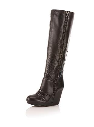 Ash Women's Ursula Knee-High Boot (Black)