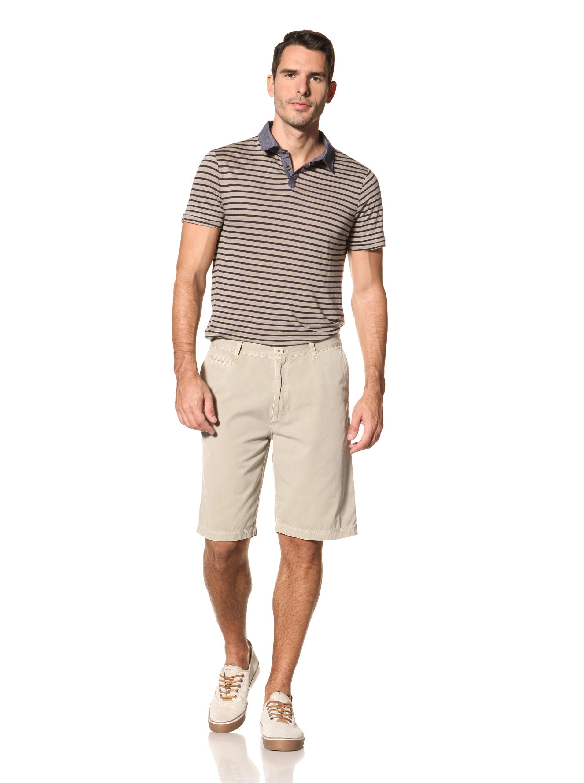 nüco Men's Canvas Club Shorts (Khaki)