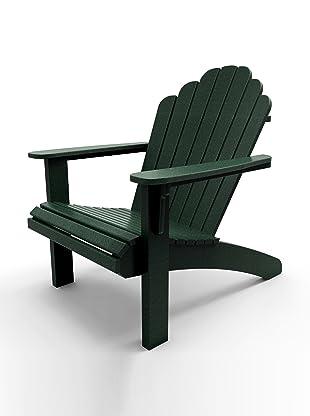 Malibu Outdoor Furniture Hampton Adirondack Chair (Turf Green)