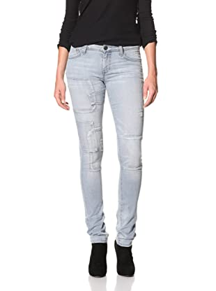 Dylan George Women's Grace Skinny Patchwork Jean (Icicle)