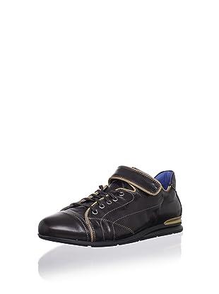 Bacco Bucci Men's Valdez Sneaker (Dark Brown)
