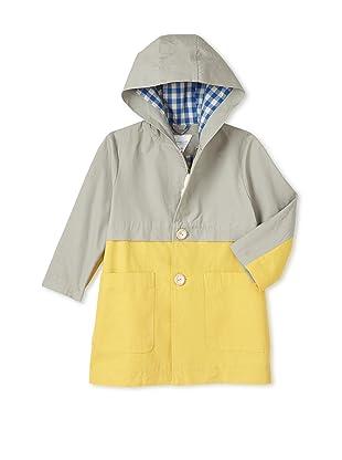 kicokids Boy's Two-Tone Duffel Coat (Huitre)