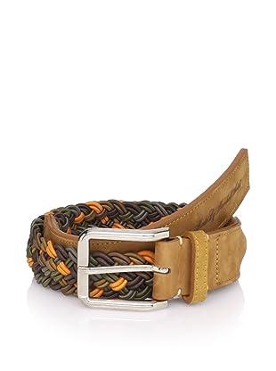 Marshall Artist Men's Hand Woven Belt (Light Tan)