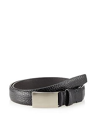Joseph Abboud Men's Shrunken Belt (Black)