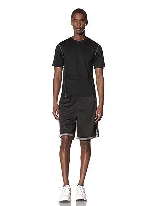 New Balance Men's Pindot Mesh Short (Asphalt/Black)