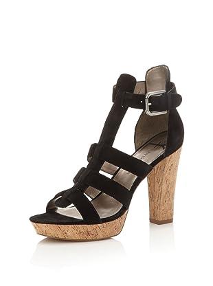 HK by Heidi Klum Women's Penny Platform Sandal (Black)