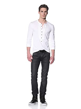Just Cavalli Men's Regular Fit Jeans (Washed Black)