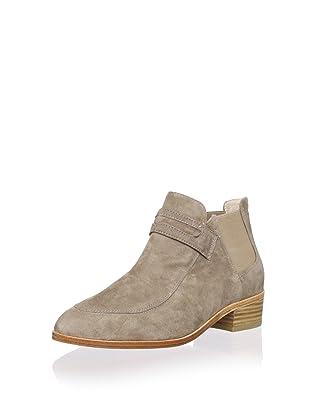 Plomo Women's Simona Loafer Flat Boot (Beige)