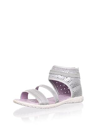 Billowy Kid's Starry Ankle Cuff Sandal (Grey)