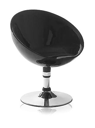 Zuo Neptune Lounge Chair (Black)