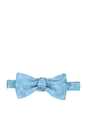 E.Tautz Men's Dot Bow Tie (Turquoise)