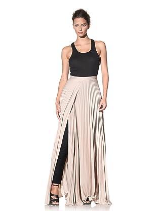 Haider Ackermann Women's Pleated Wrap Skirt (Skin)