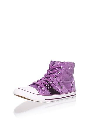 Billowy Kid's Hi-Top Sneaker (Purple)