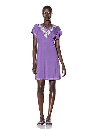 Oscar de la Renta Women's Evening Tapestry Gown (Violet)