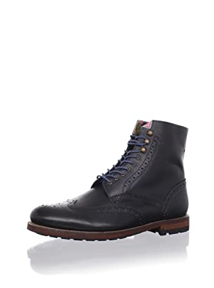 Ted Baker Men's Poallu Lace-Up Boot (Black Leather)