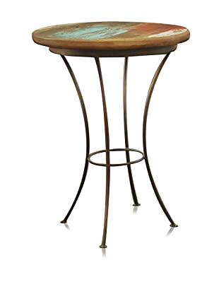 Reclaimed Wood Furniture Bombay Round Side Chair Table