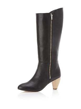 Loeffler Randall Women's Lidia Side NULL Knee-High Boot (Black)