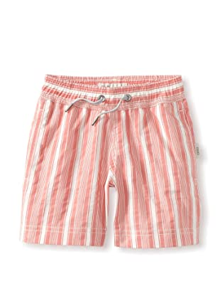 Onia Boy's Charlie Trunks (Red/White Stripe)