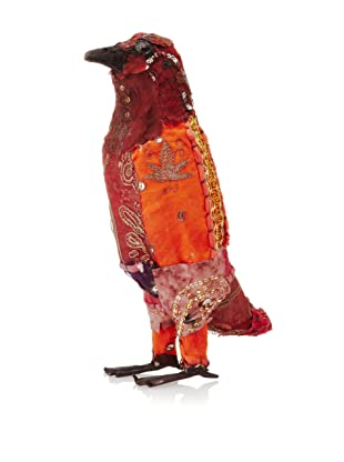 Abigails Decorative Bird with Vintage Punjab Cloth