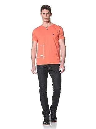Marshall Artist Men's Naval Gym T-Shirt (Orange)