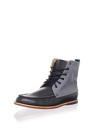 Thorocraft Men's The Shelton Boot (Black/Grey Canvas)