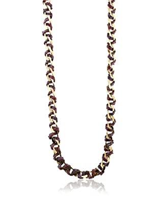 Kara Ross Python Corded Link Necklace