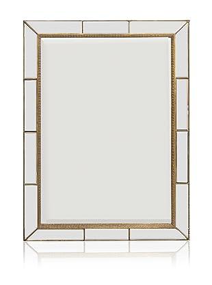 Paneled Bevel Mirror (Antique Gold)